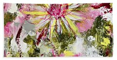 Daisies On Parade No. 1 Bath Towel