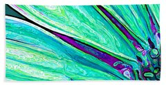 Daisy Petal Abstract 2 Bath Towel
