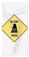 Dalek Crossing Bath Towel