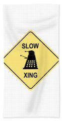 Dalek Crossing Bath Towel