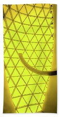 Dali Museum Glass Roof In Yellow Hand Towel