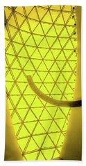Dali Museum Glass Roof In Yellow Bath Towel