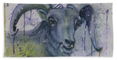 Dall Sheep In Living Color Hand Towel