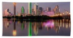 Dallas City Reflection Bath Towel