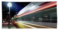 Dallas Dart Train 012518 Hand Towel