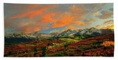 Dallas Divide Sunset - 2 Bath Towel