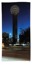Dallas Reunion Tower Bath Towel