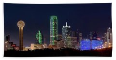 Dallas Skyline 071316 Hand Towel