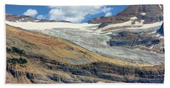 Daly Glacier And Yoho National Park Adventure Bath Towel