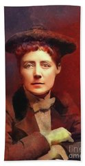 Dame Ethel Smyth, Suffragette And Composer Bath Towel