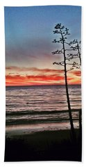 Dana Point Sunset Hand Towel
