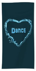 Dance Hand Towel by Linda Prewer