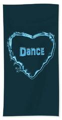 Dance Bath Towel by Linda Prewer