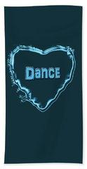 Hand Towel featuring the digital art Dance by Linda Prewer