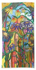 Dance Of Life Bath Towel by Tanielle Childers