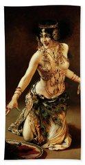 Dance Of Salome Hand Towel