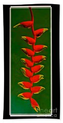 Dance Of The Heliconias Hand Towel