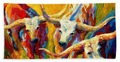 Longhorns Bath Towels