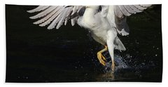 Dance On Water. Bath Towel