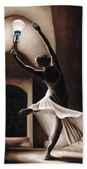 Dance Seclusion Hand Towel