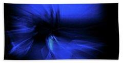 Dance Swirl In Blue Hand Towel