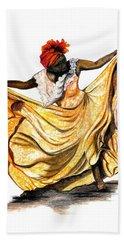 Dance The Belair Bath Towel