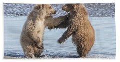 Dancing Bears Hand Towel