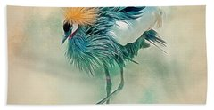 Dancing Crane Bath Towel