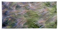 Dancing Foxtail Grass Hand Towel