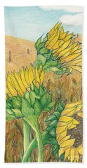 Dancing In The Breeze  Hand Towel by Vicki  Housel