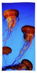 Dancing Jellyfish Hand Towel