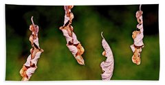 Dancing Leaves Hand Towel