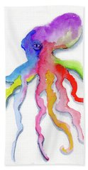 Dancing Octopus Bath Towel