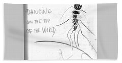 Dancing On The Top Of The World Hand Towel