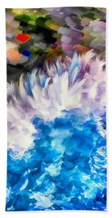 Dancing Swells Bath Towel