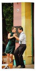 Dancing Tango Hand Towel