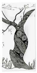 Dancing Tree Bath Towel