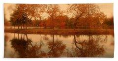 Dancing Trees - Lake Carasaljo Hand Towel