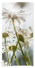 Dancing With Daisies Bath Towel by Aaron Aldrich