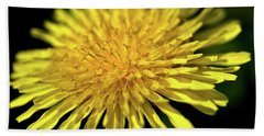 Dandelion Flower Bath Towel