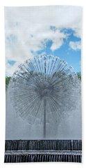 Dandelion Fountain Bath Towel