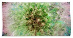 Hand Towel featuring the photograph Dandelion by Jasna Dragun