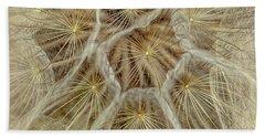 Dandelion Particles Bath Towel