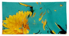 Dandelion Summer Bath Towel