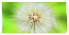Dandelion Warp Bath Towel by David Stasiak