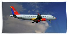 Danish Air Transport Airbus A320-233 Bath Towel