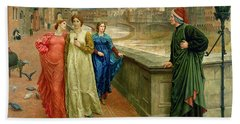 Dante And Beatrice Bath Towel