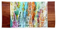 Danxia Water Falls Bath Towel