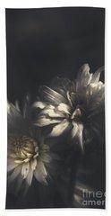 Dark Artistic Flower Fine Art. Dawn Of Spring Hand Towel