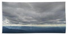 Dark Mountains Hand Towel